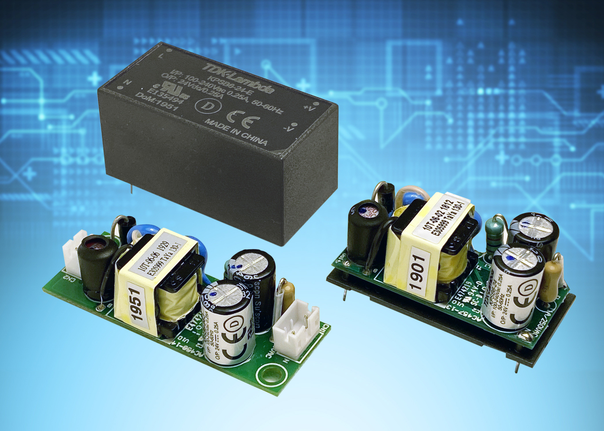 Class II Power Supplies w/ Wide Operating Temperatures