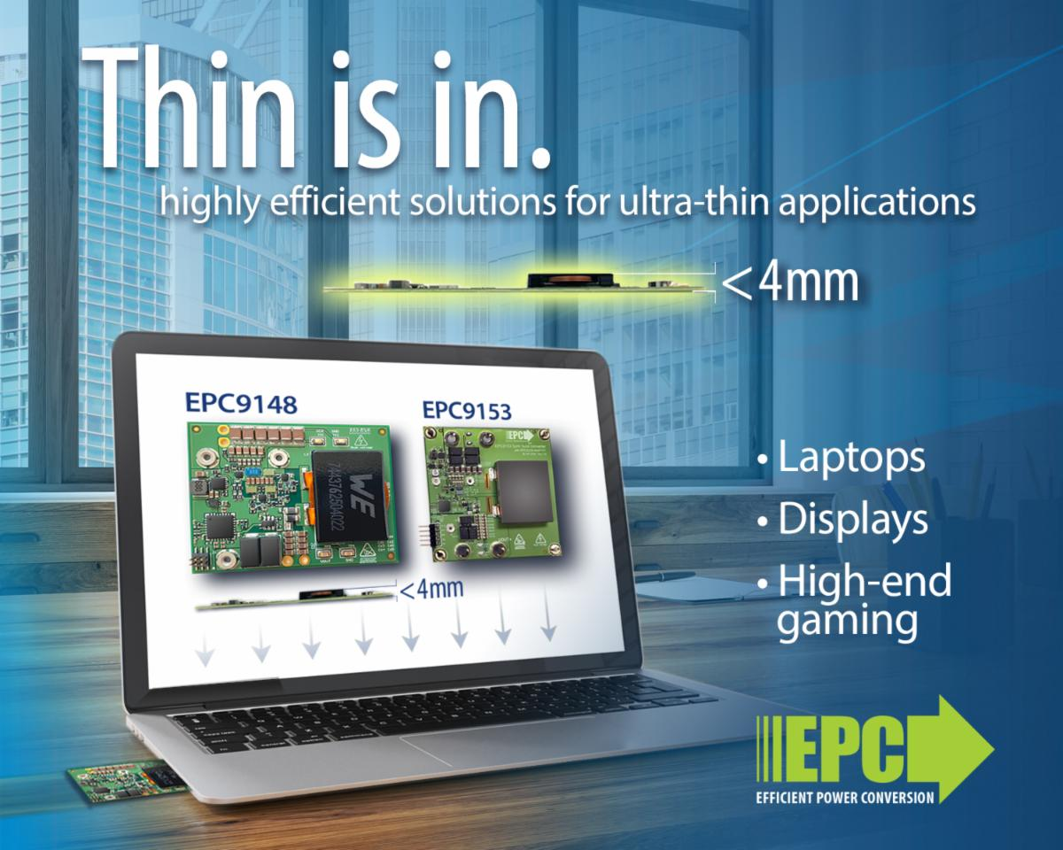 eGaN FETs Feature 98% Efficiency for High-Density Computing