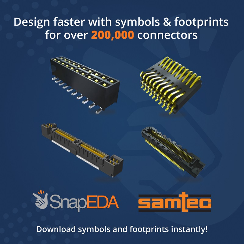 Over 200,000 Samtec symbols & footprints