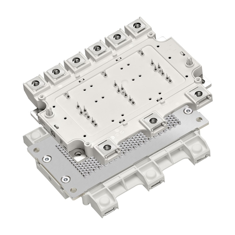 Power module for mid-power electric vehicle traction inverters