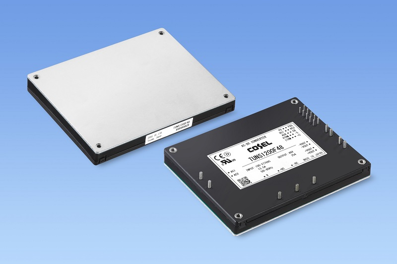 1.2 kW high-density, low-profile, onboard AC/DC power module