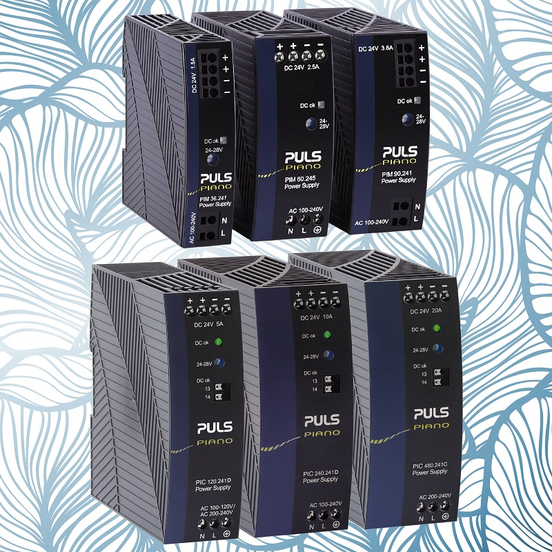 No compromise DIN-Rail power supplies offer cost advantages