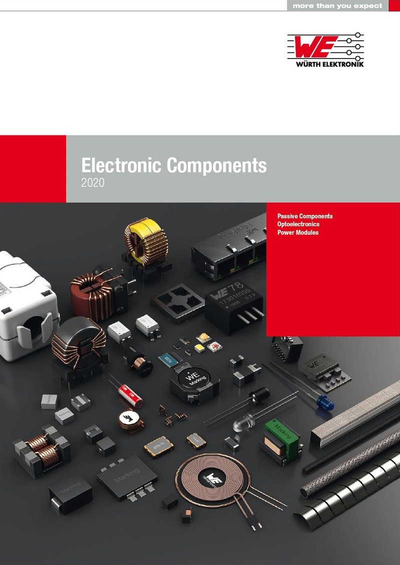 Würth Electronic Components 2020 catalogue