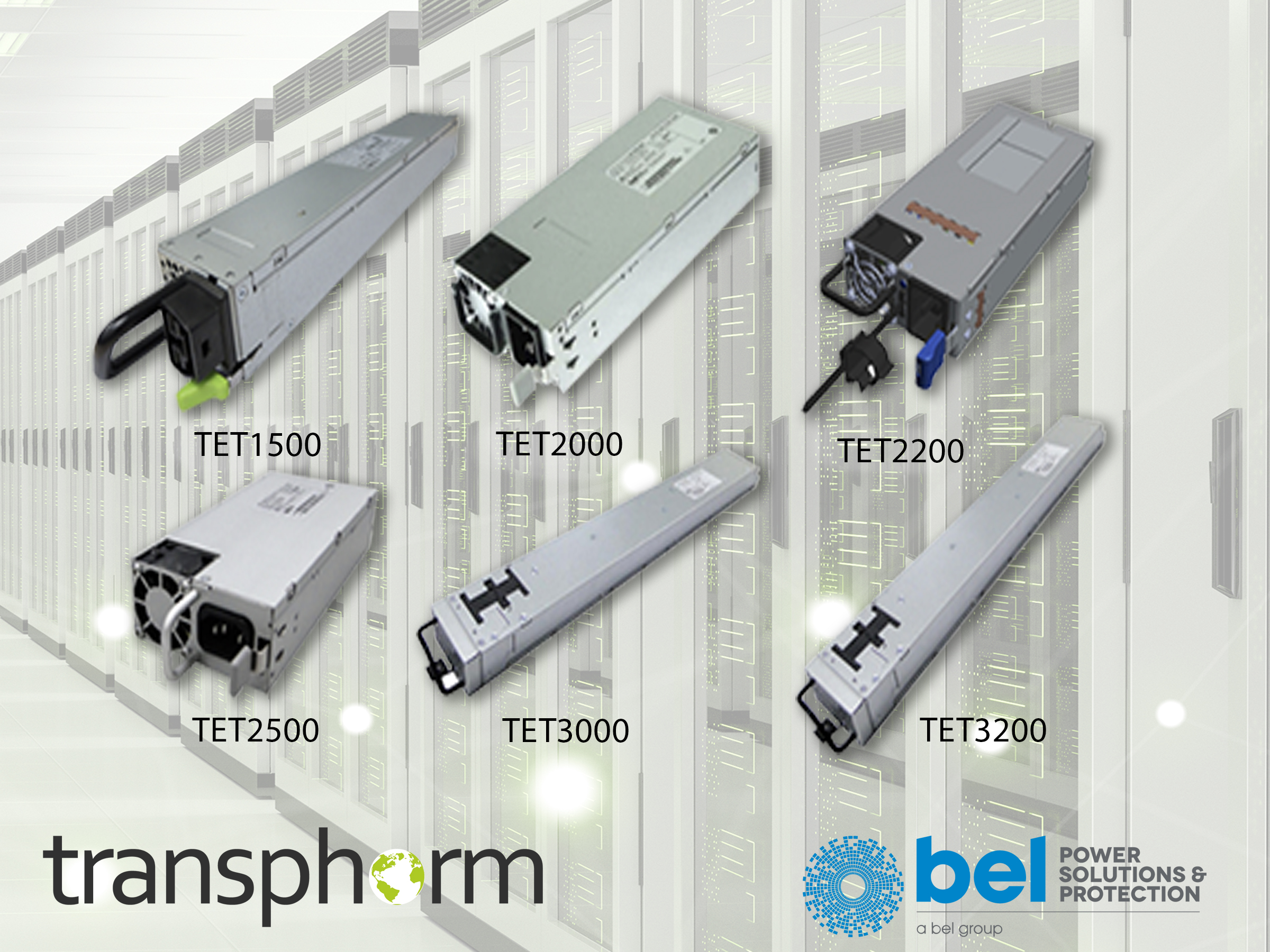 Family of Titanium Efficiency AC to DC Power Supplies