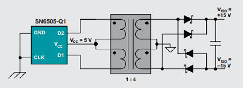 A Push-Pull Topology for DC-DC Converter 12 V EV Applications