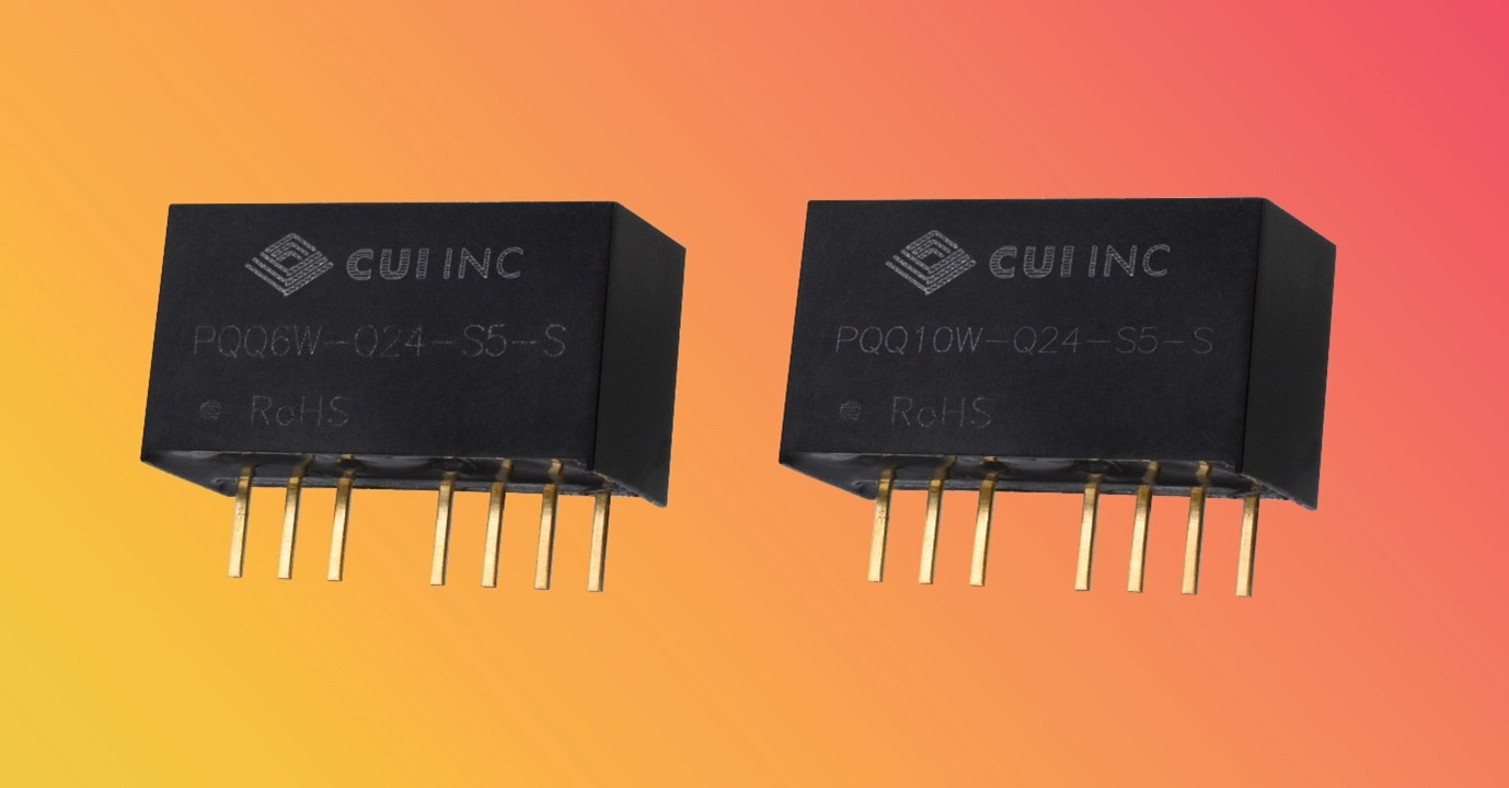 6 W and 10 W Isolated DC-DC Converters with 4:1 Input Range