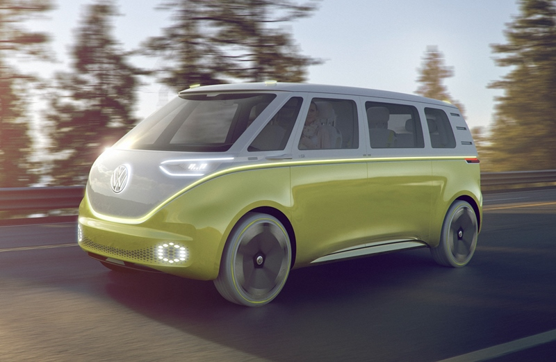 Volkswagen Hippie-Bus Goes All-Electric