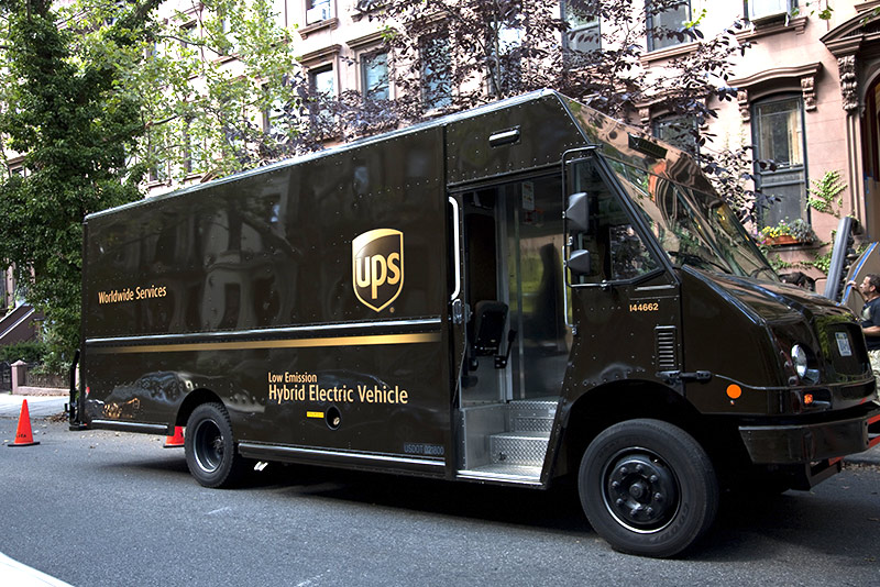 UPS to Convert 66% of its NYC Delivery Trucks to Electric