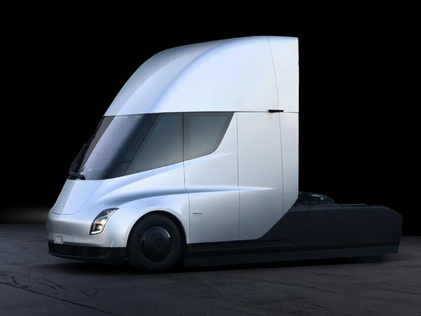 UPS Places Large Order for Tesla's Electric Big Rig