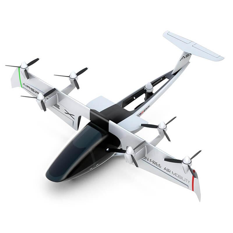 AirSpaceX Unveils Autonomous Air Taxi