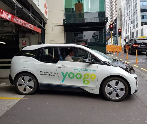 New Zealand City Launches Electric Car-Sharing Service
