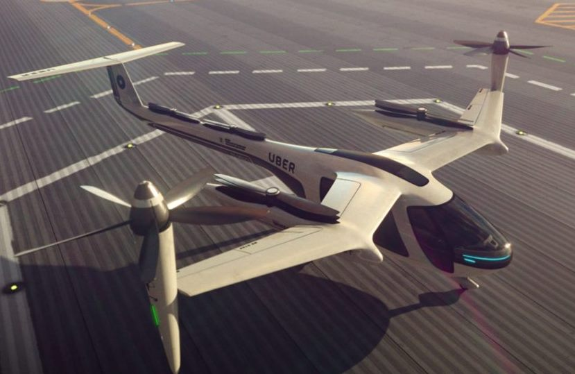 Uber to Launch Air Taxi Service in 5-10 Years