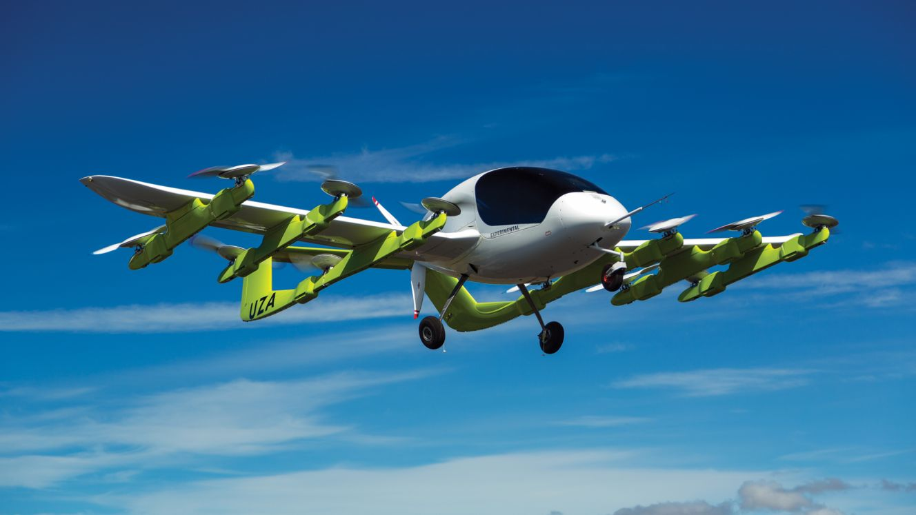 Google Co-Founder Sponsors New Air Taxi