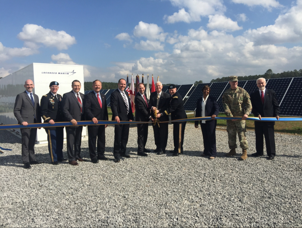 Army Unveils 10 MW Photovoltaic System