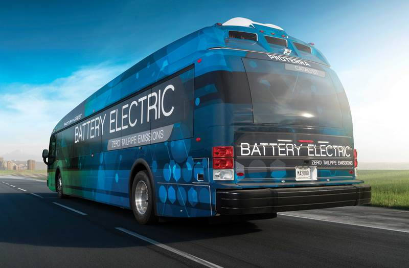 By 2040, 80% of all Buses Will be Electric