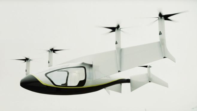 Rolls-Royce Unveils Hybrid-Electric Air Taxi