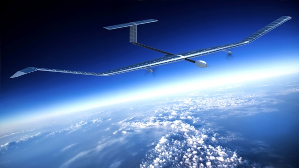 Airbus Solar-Powered Drone Delivers Internet to Remote Areas