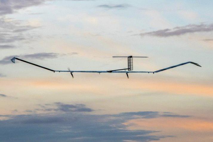 UK Military Drone Sets Solar Flight Record