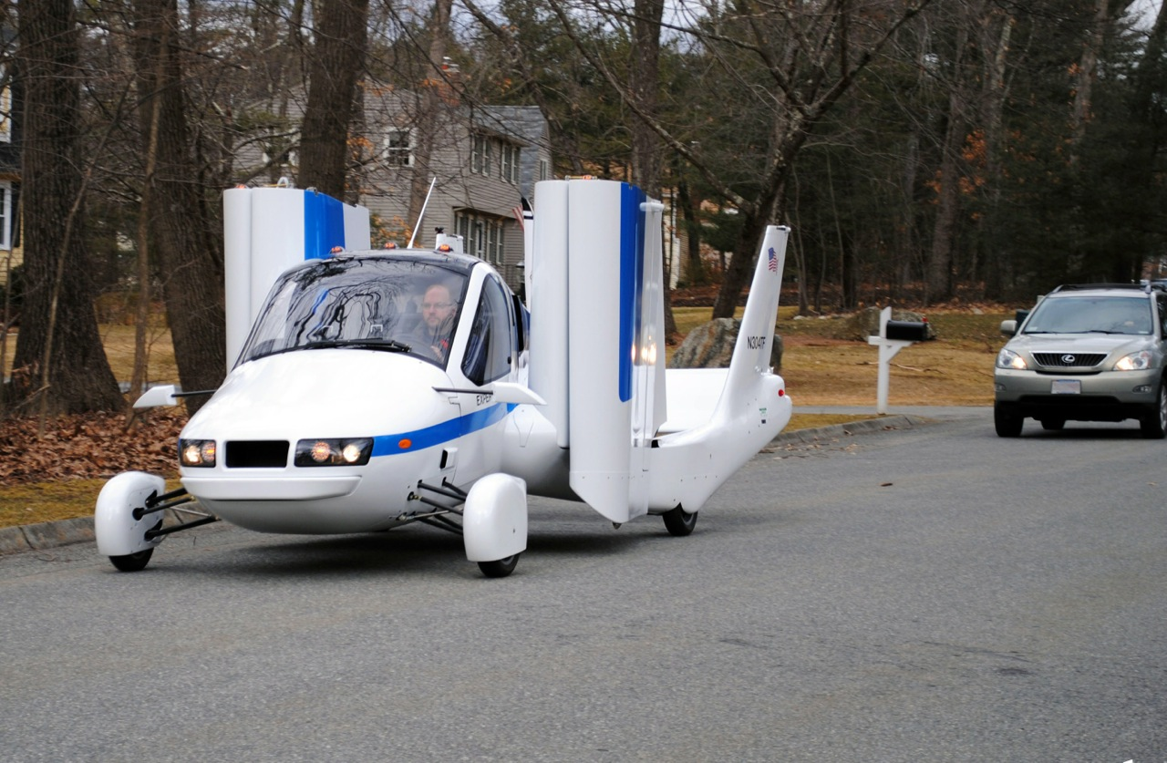 World's First Flying Car is an Actual Car