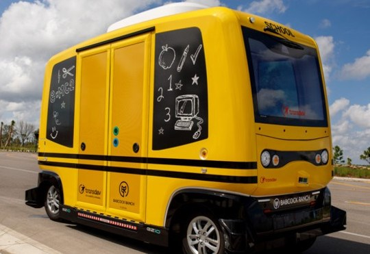 Feds To Company: Stop Testing Autonomous Bus With Children