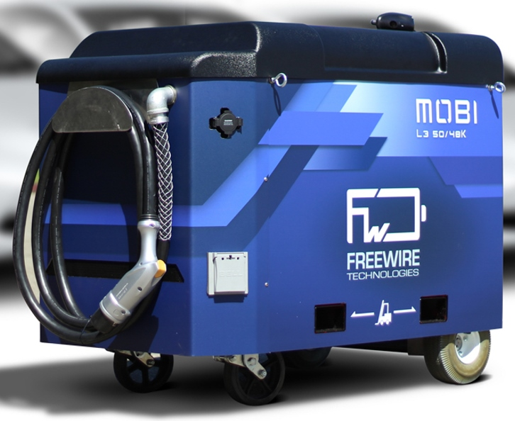 Volvo Invests in Mobile EV Charging Company