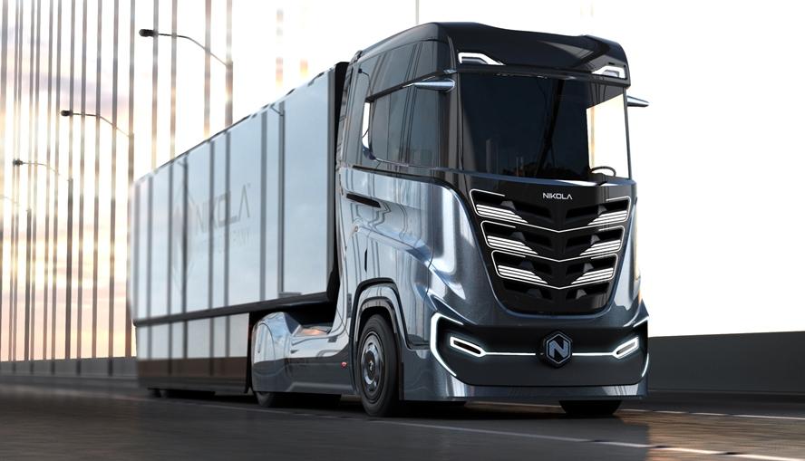 A Hydrogen Truck for the European Market