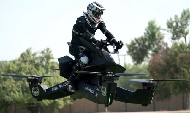 Dubai Police Hoverbikes Are Impractical at Best
