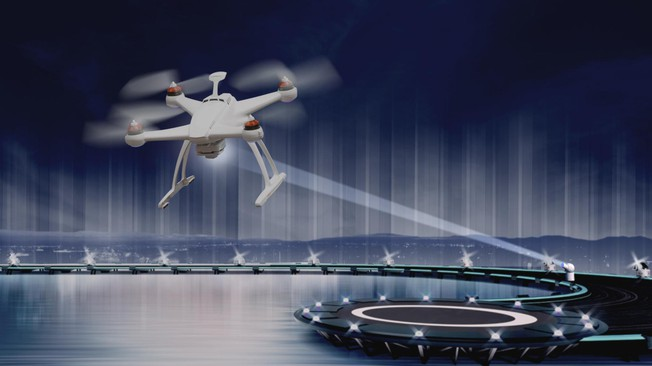 Diamonds Could Help Lasers Recharge Drones