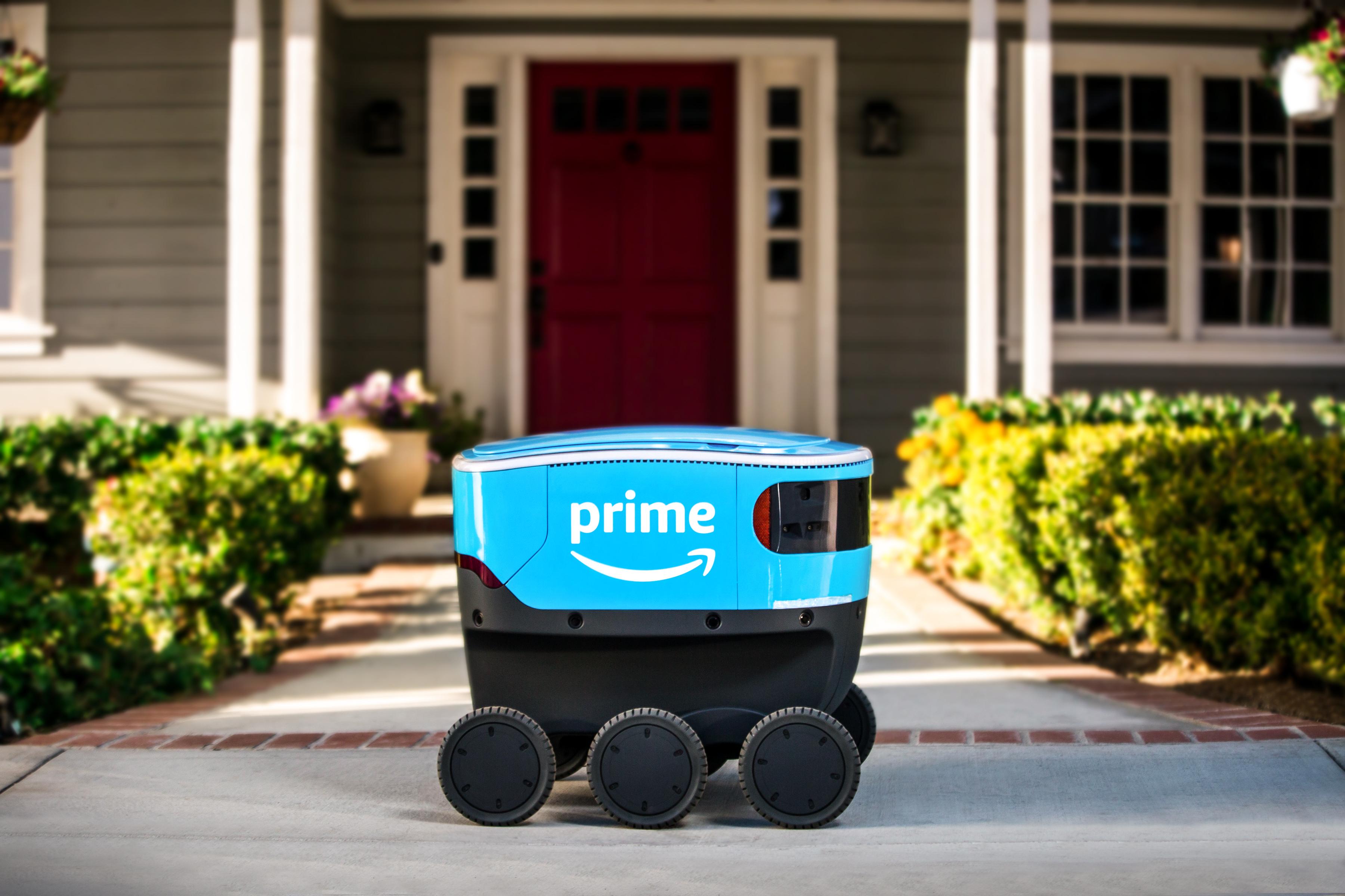 Amazon to Test Out Autonomous Delivery Robots