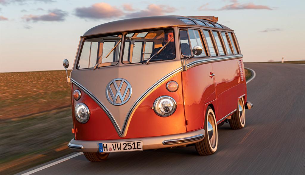 Volkswagen Conversion Kit Lets You Electrify Your Hippie Van