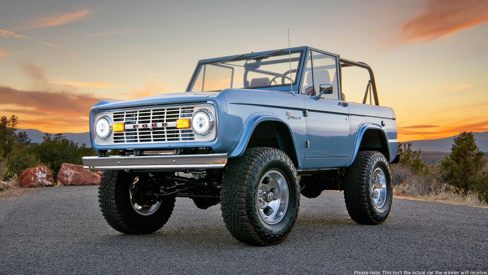 Company Donates Custom Electric Ford Broncos for Charity