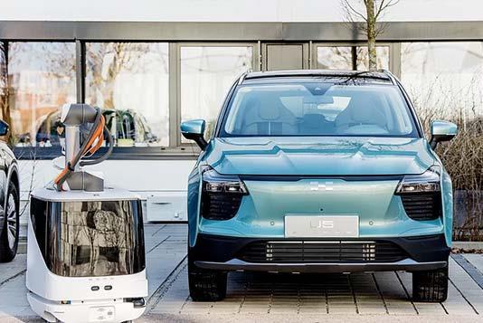 Autonomous EV Charger Would Seek You Out