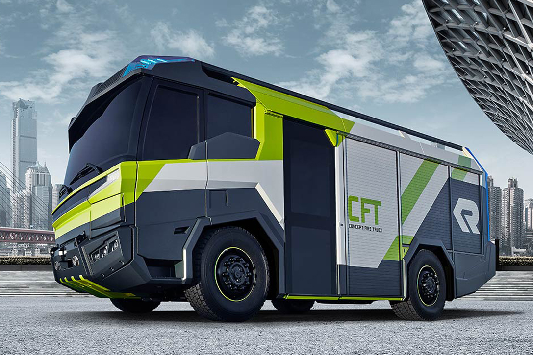 Electric Fire Truck Could Revolutionize Emergency Vehicles