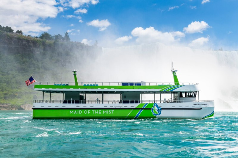 Maid of the Mist Launches All-Electric Passenger Vessels