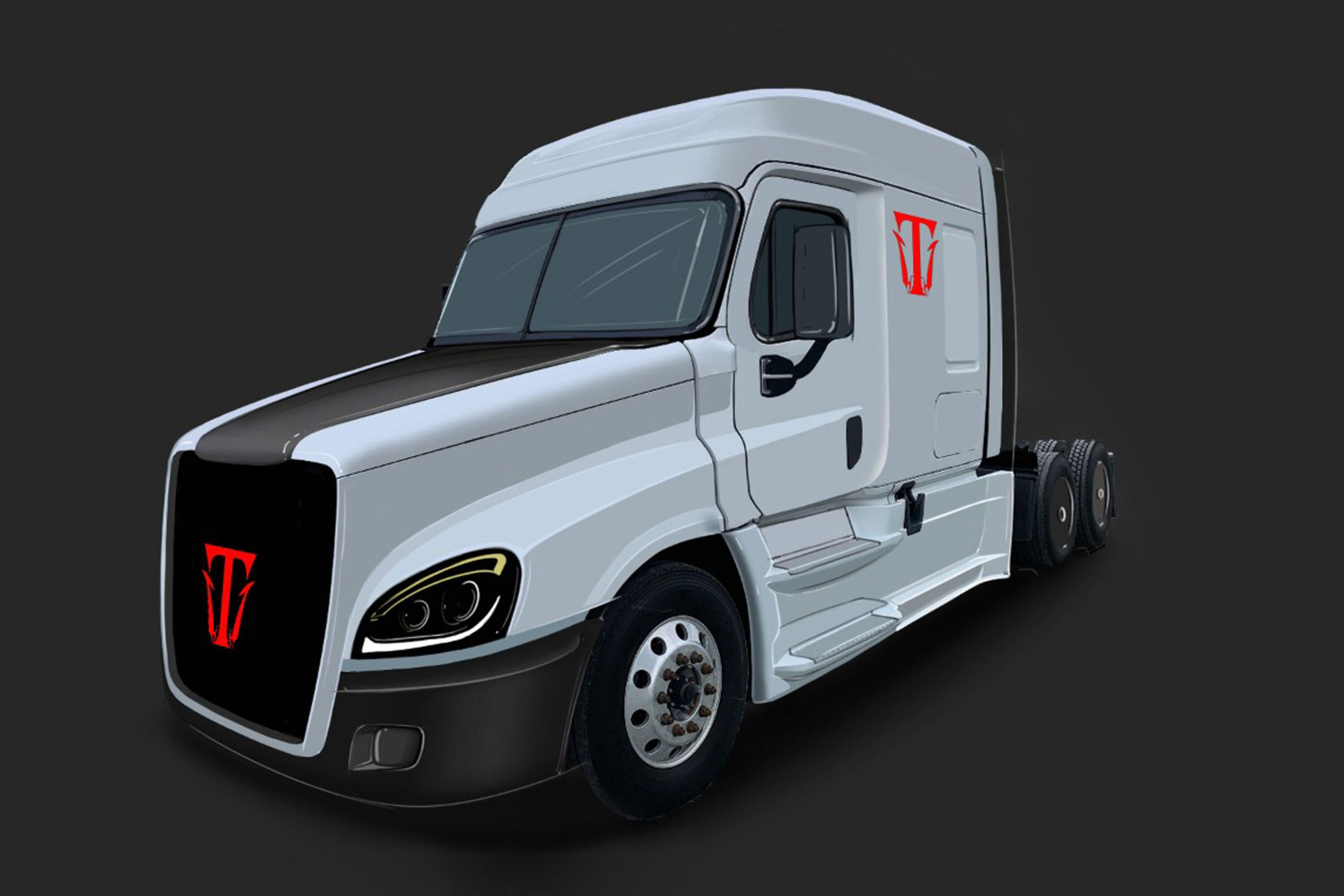 Triton Completes Prototype of Electric Big Rig in 35 Days