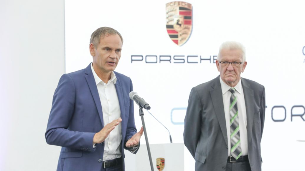 Porsche Forms new Battery Joint Venture