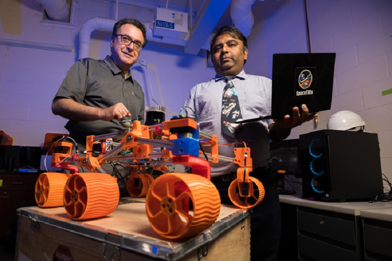 Autonomous robot swarms being developed to mine lunar resources